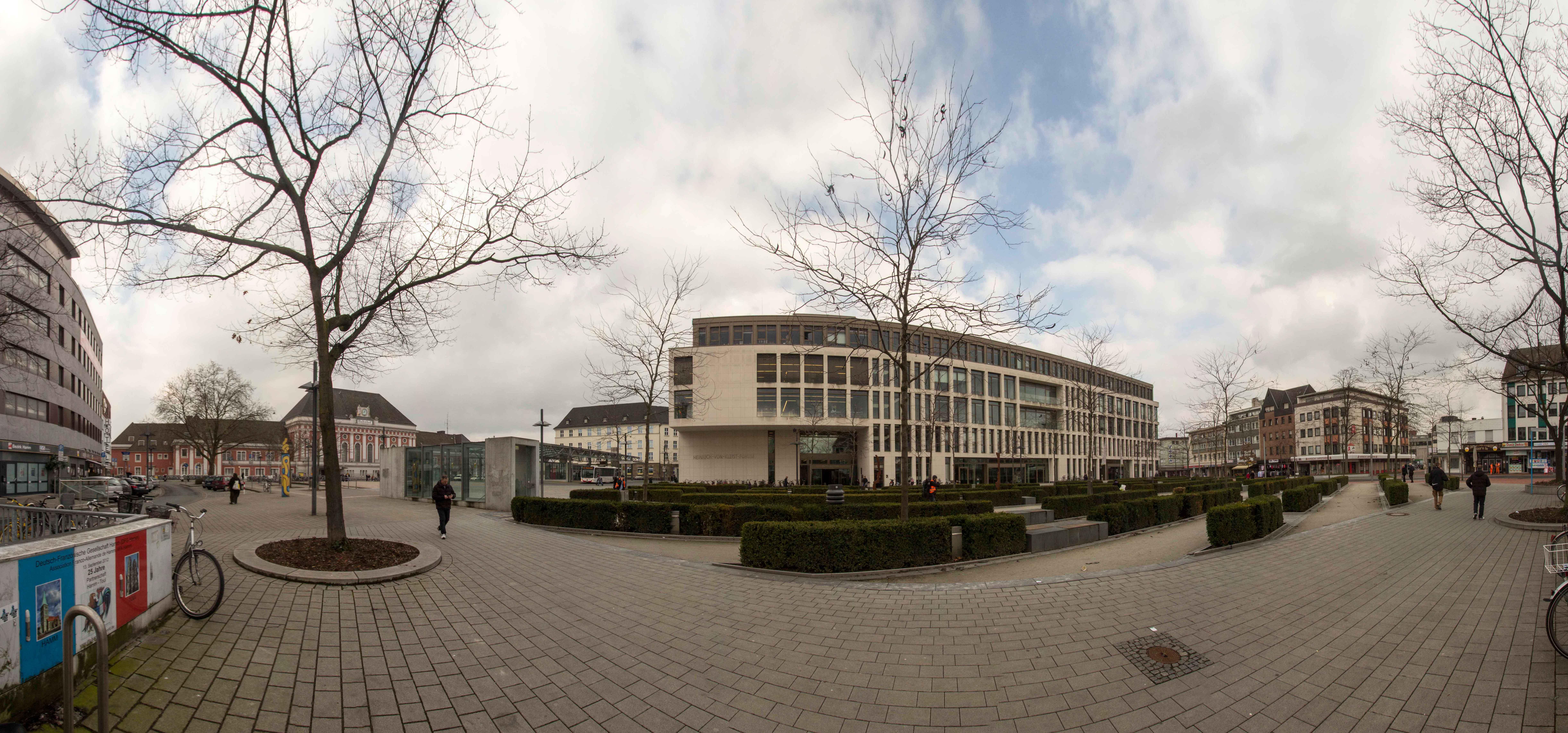 Panorama Bahnhofsviertel