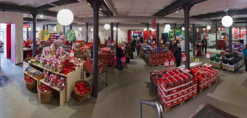 Halloren Schokoladenfabrik Verkaufsraum