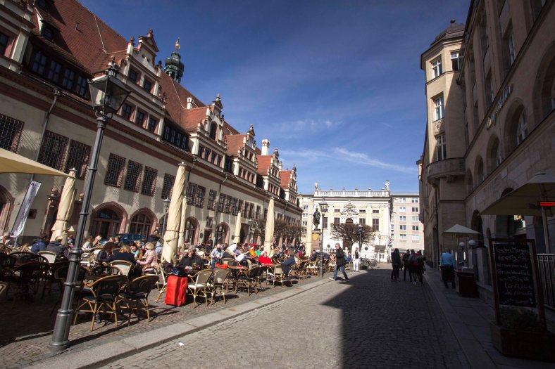 Naschmarkt und Alte Börse