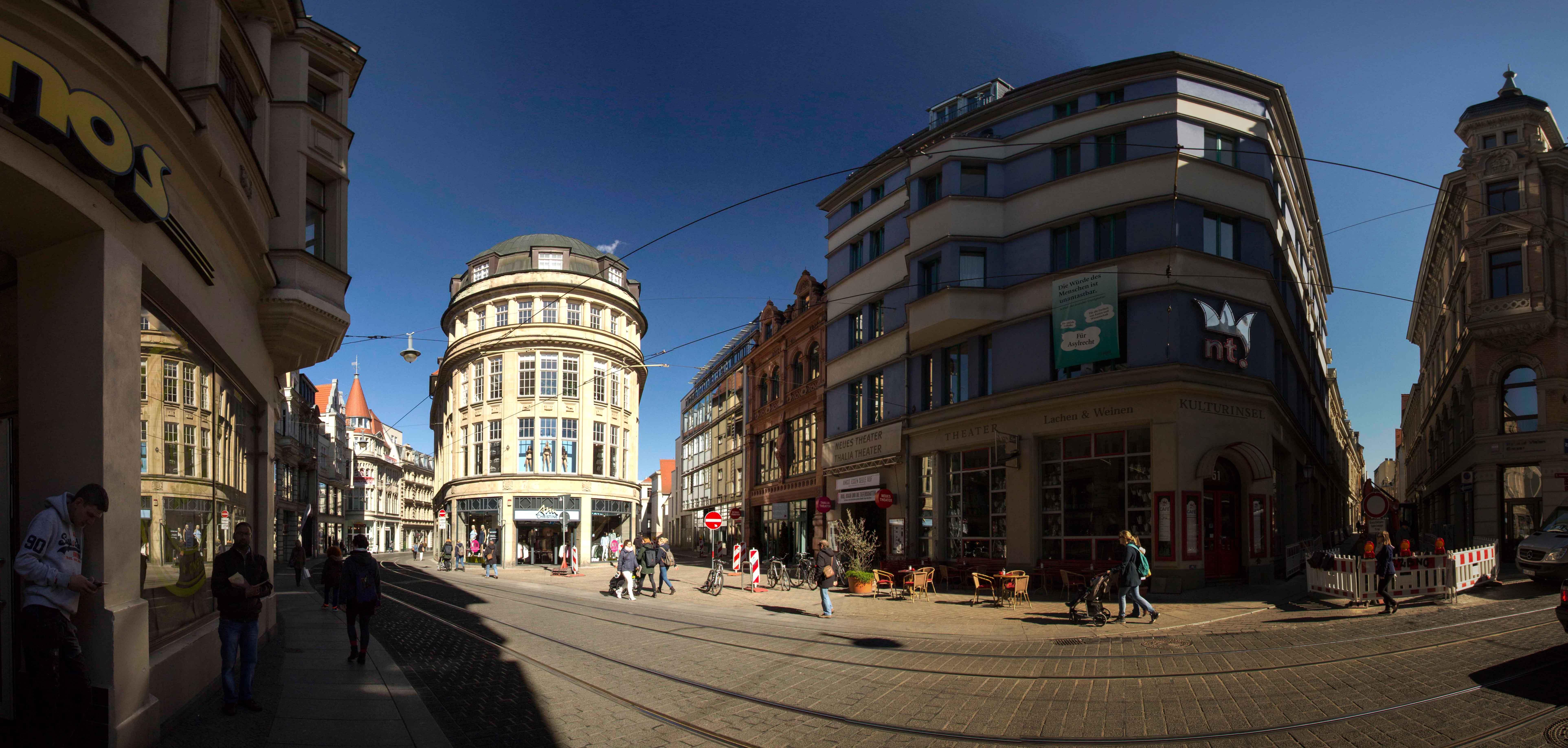 Panorama Innenstadt Halle