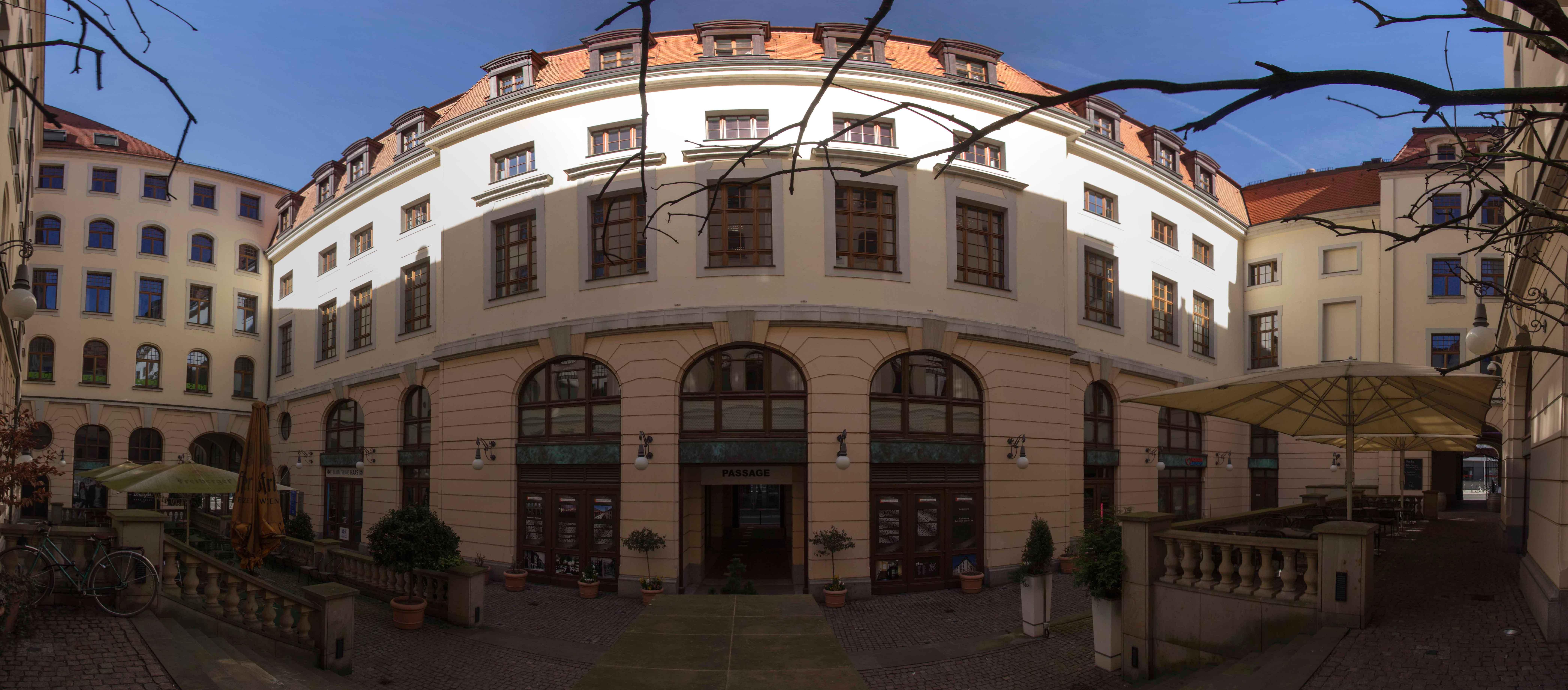 Städtisches Kaufhaus Panorama Innen