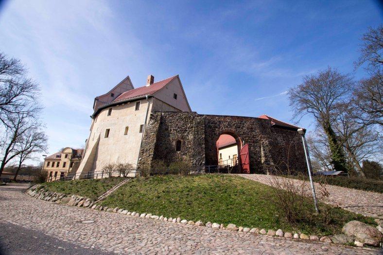 Wasserburg Burg Roßlau