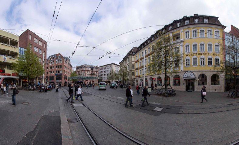 Barbarossaplatz Panorama