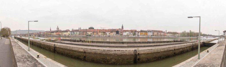 Panorama Main und Würzburg