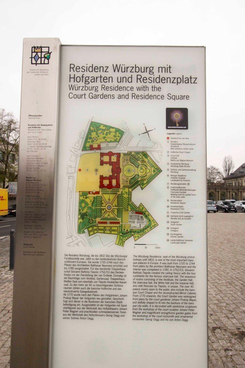 Würzburger Residenz einzeln