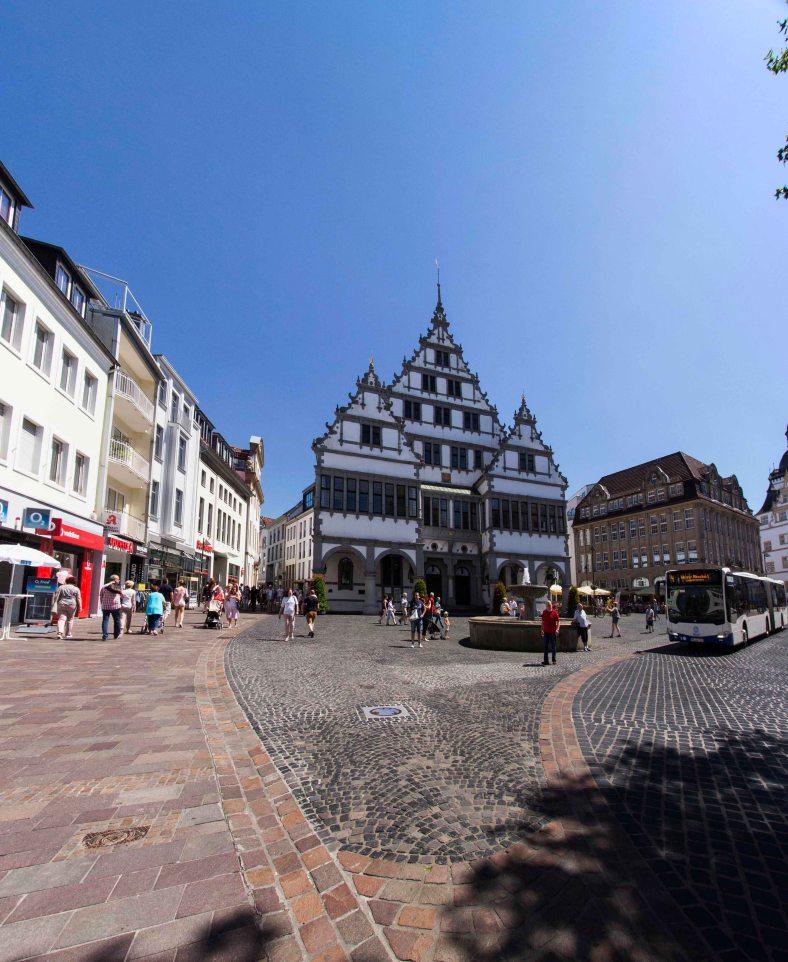 Rathaus und Rathausplatz
