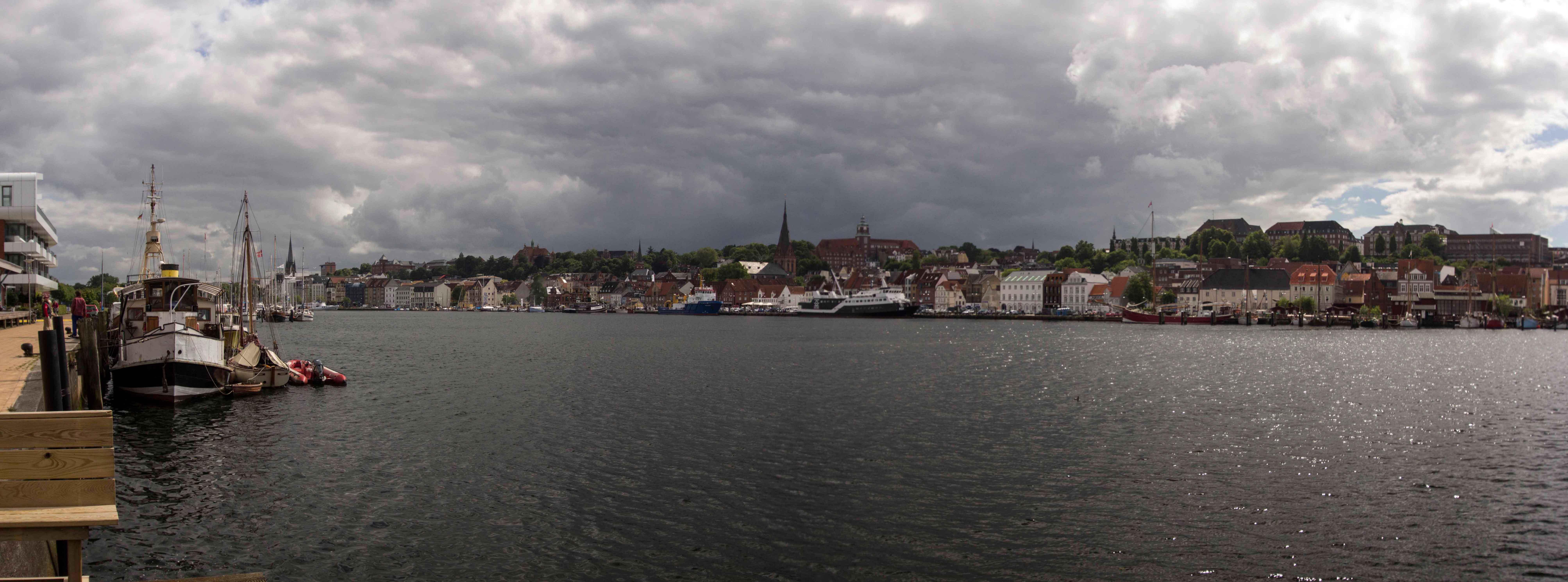 Panorama am Fischereihafen 1