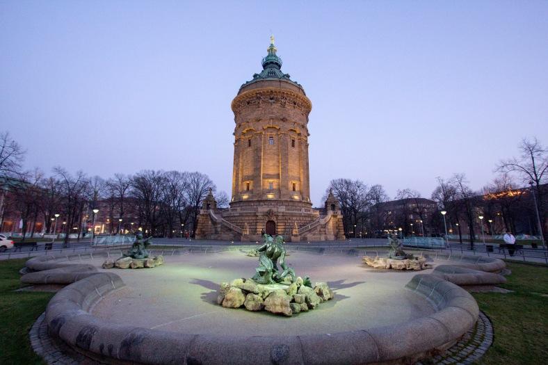 Architektur und Zentrum Mannheim_2