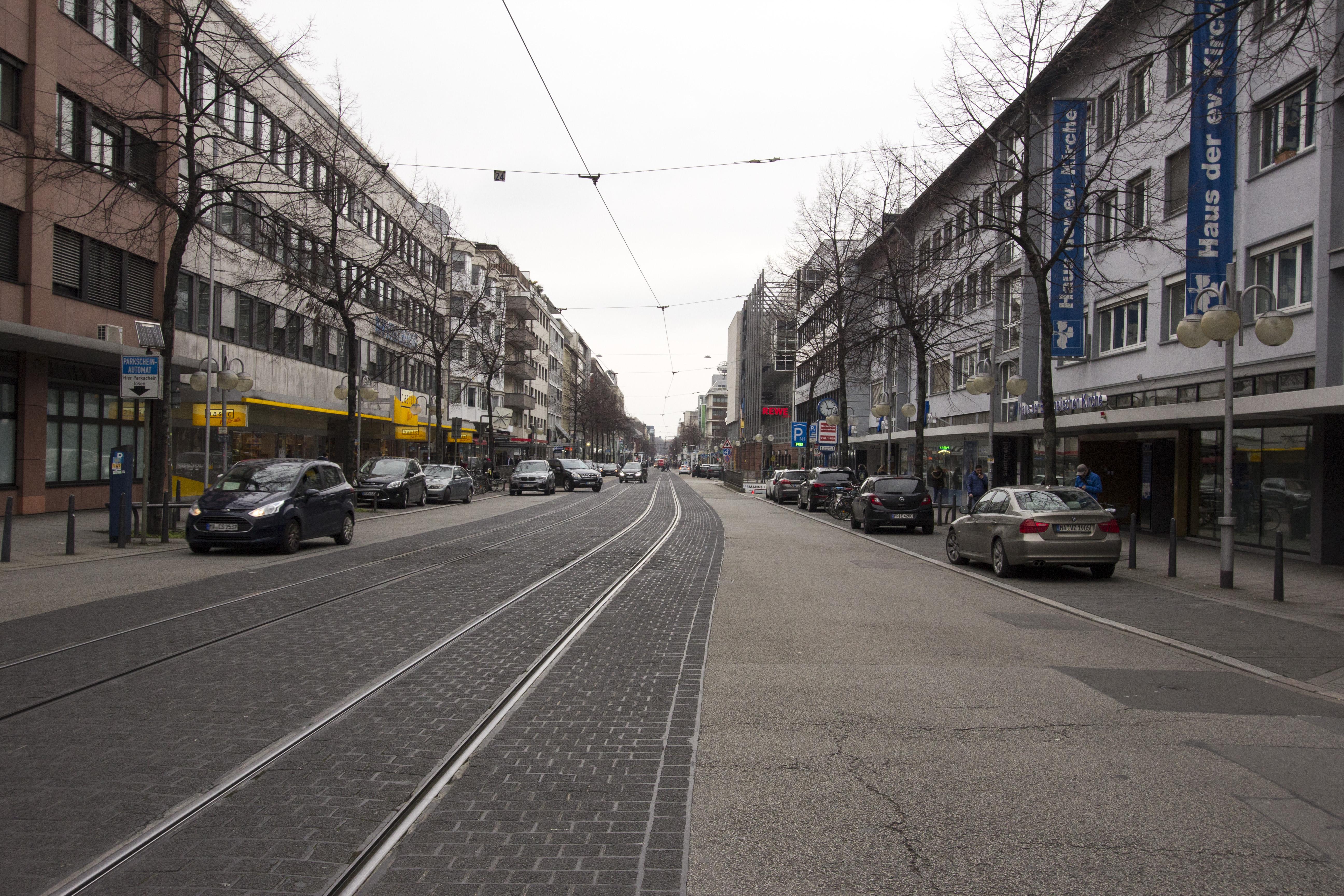 Architektur und Zentrum Mannheim_23