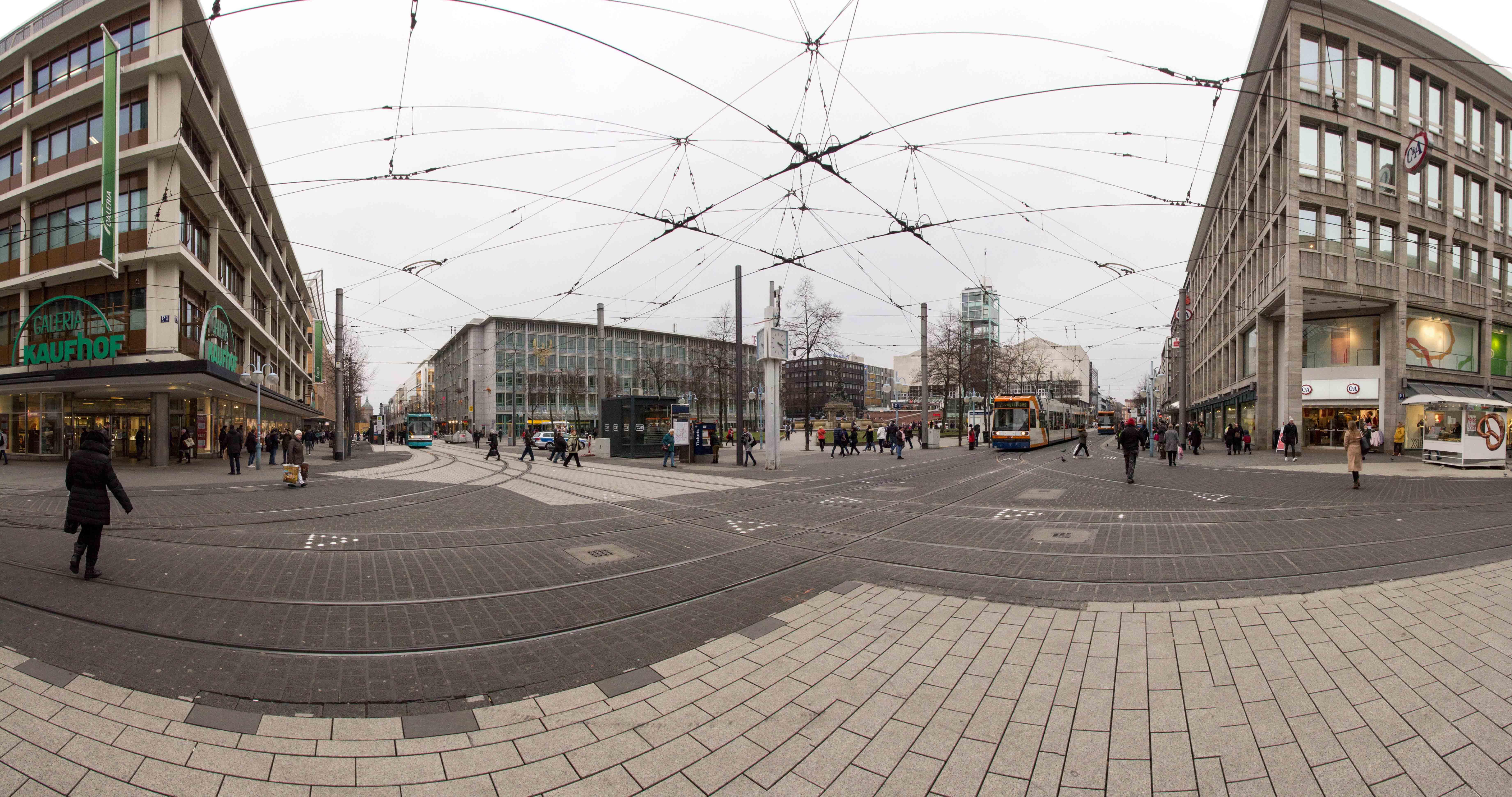 Architektur und Zentrum Mannheim_29