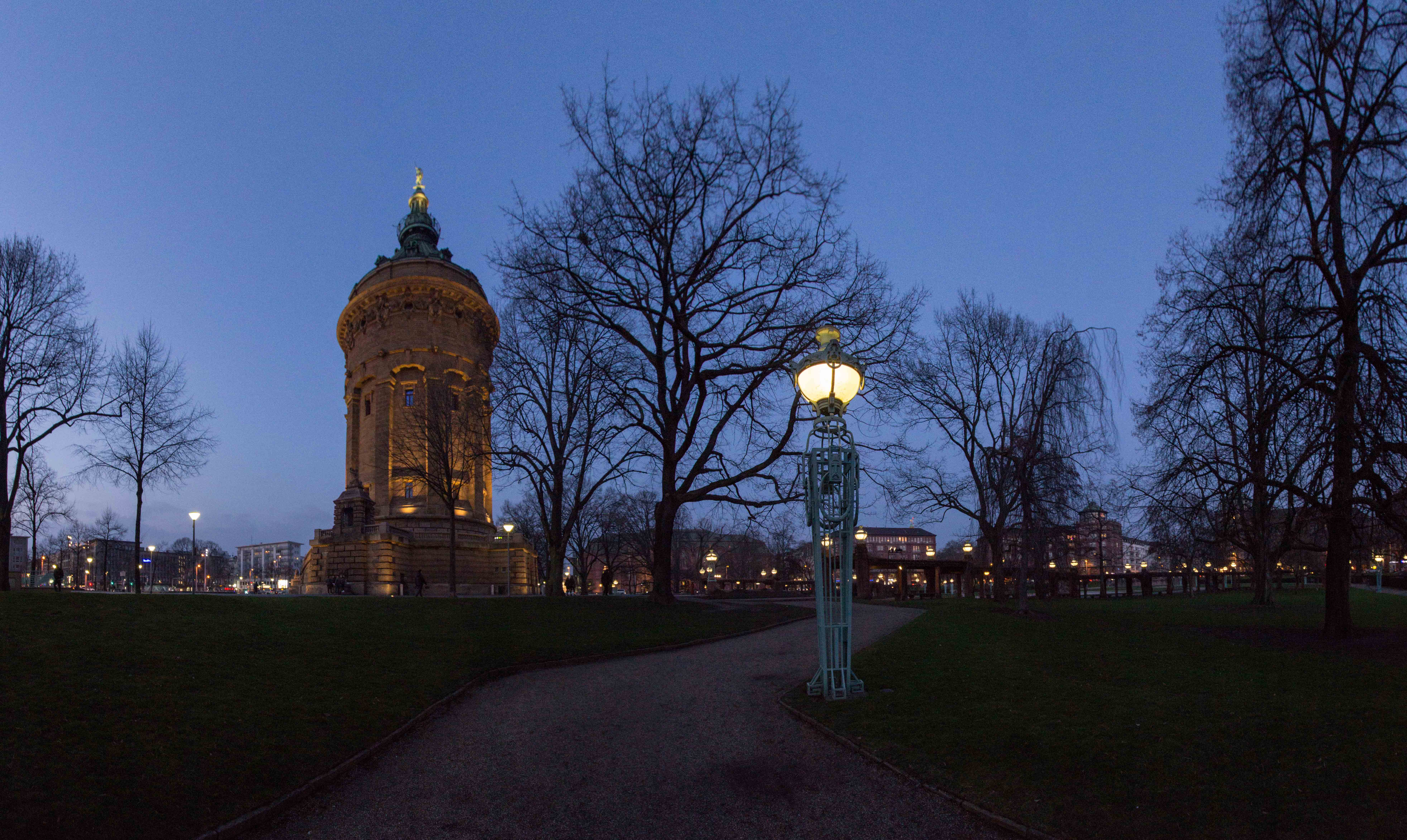 Architektur und Zentrum Mannheim_5